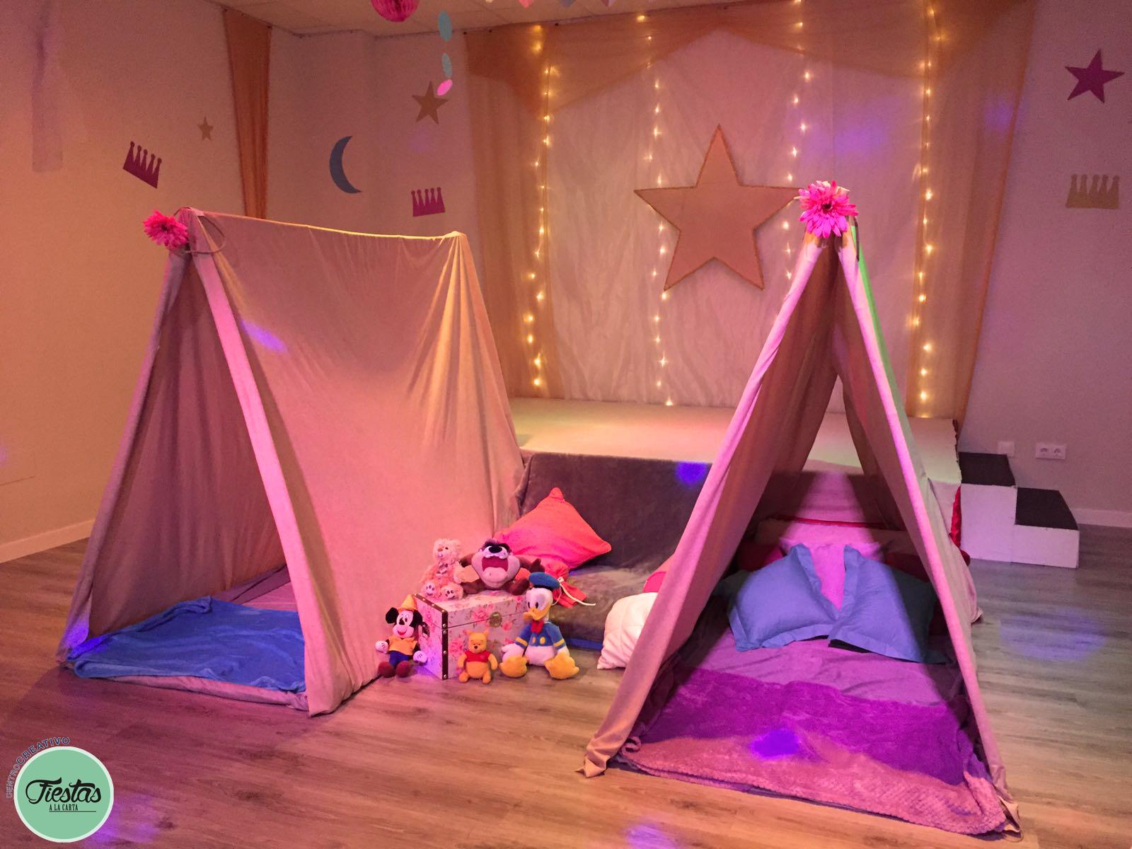 Decoración cumpleaños infantil Fiesta de pijamas