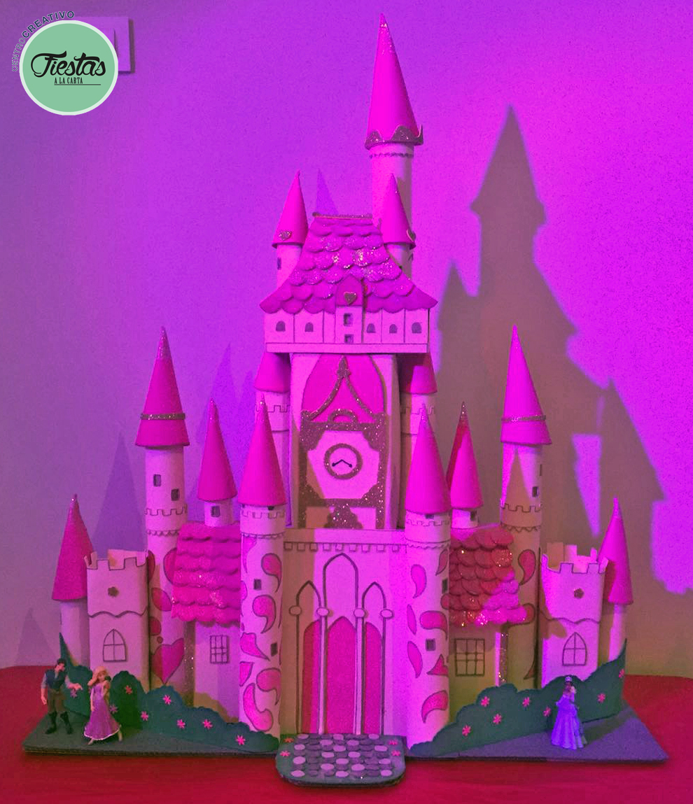 Decoración cumpleaños infantil Princesas