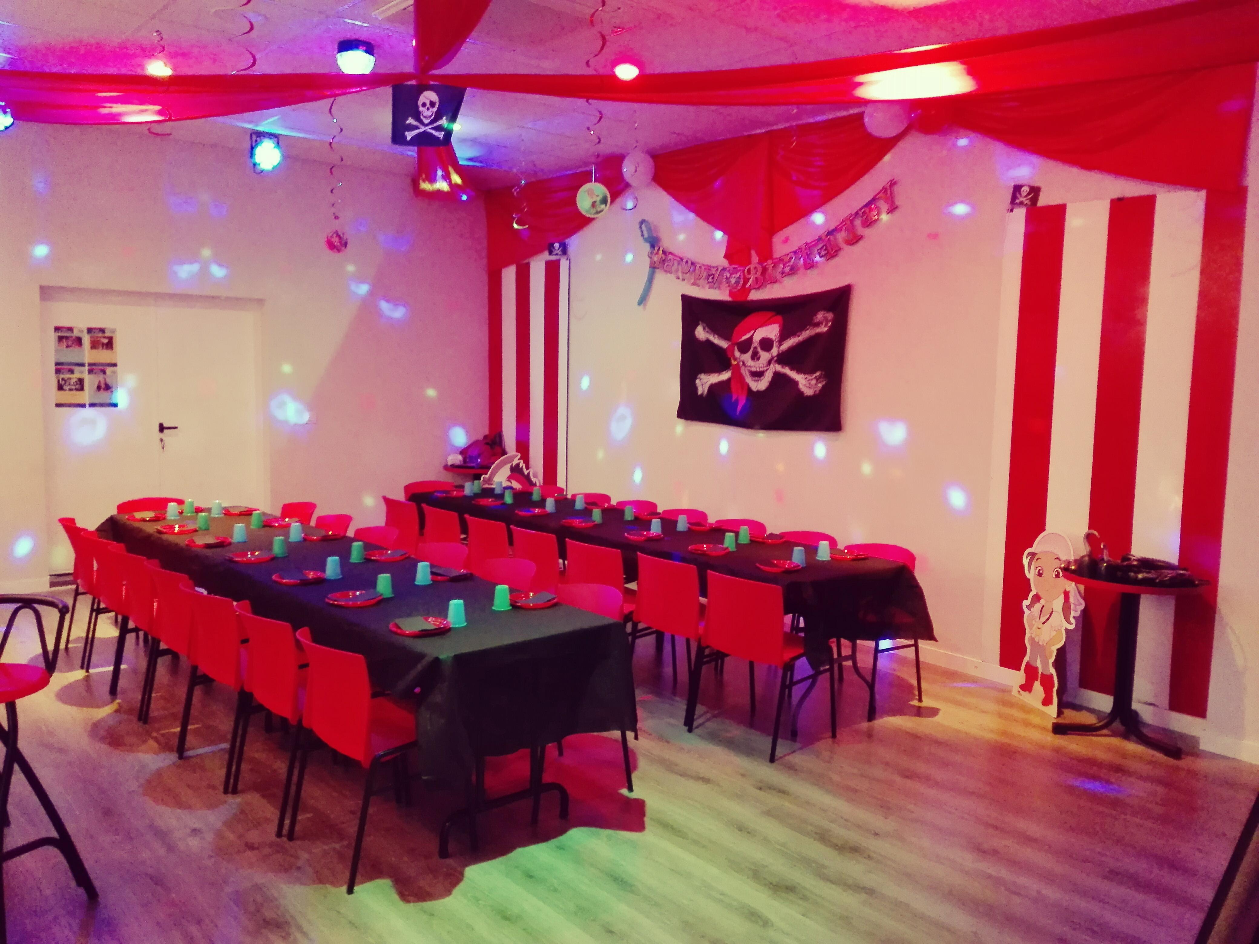 Decoración cumpleaños infantil piratas
