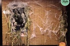 Decoración Halloween Polideportivo