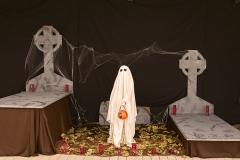 Decoración Halloween Piscina